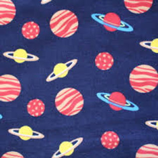 Fabric Freedom - Space Planets Navy - FF2861