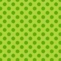 1811-G3  Polka Dot Lime Green