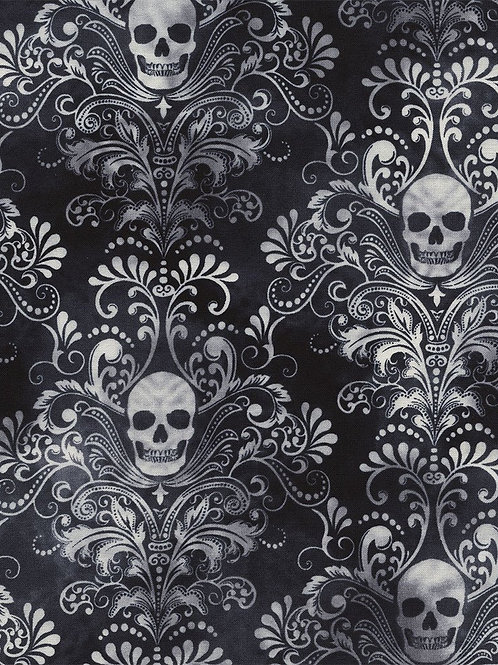 Timeless Treasures - Wicked - Charcoal - C3759