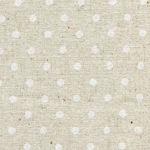 Sevenberry - Natdots - White on Natural 88185D1-1