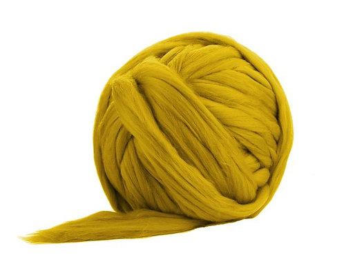 Merino Jumbo Yarn - Mustard - 100% Wool