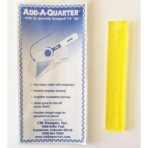 """CM Designs - Add-A-Quarter Ruler 1/4"""""""