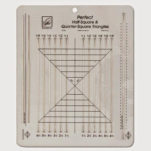 Tailor - Perfect Half-sqaure & Quarter-square Triangles