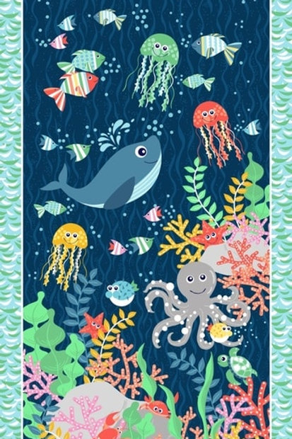 Blank Quilting - Sea Buddies Panel BL9308P-77