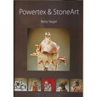 Powertex and Stone Art by Betty Nagel
