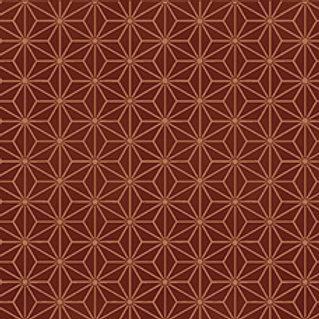 4592-303 Glimmering Copper geometric stars