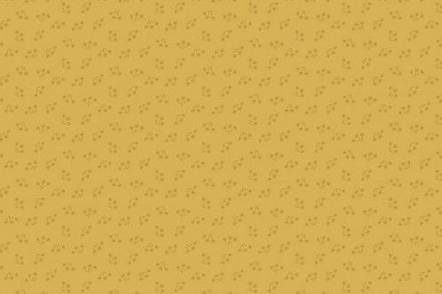 Makower - Bijoux - Bouquet - Yellow Orche - 2/8701Y