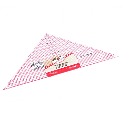 """SewEasy - Patchwork Ruler - 7 1/2"""" x 15"""" 90°"""