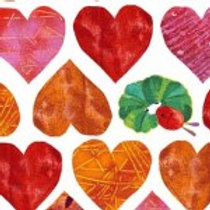 VHC End Paper Hearts 8336R