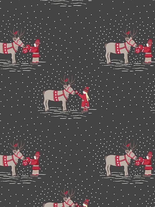 WIMSR- Meeting Santa's Reindeer dk grey