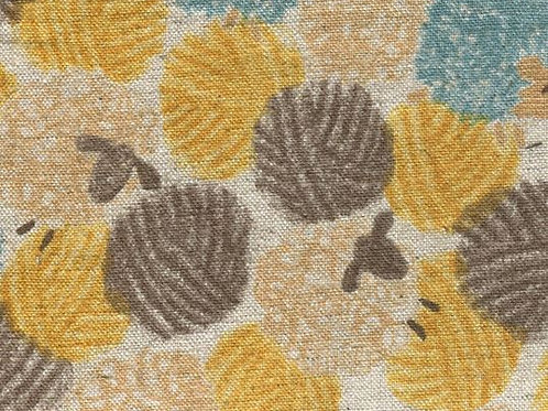 Sevenberry - Cotton Linen  - Hedgehogs Beige - 850151D2-1