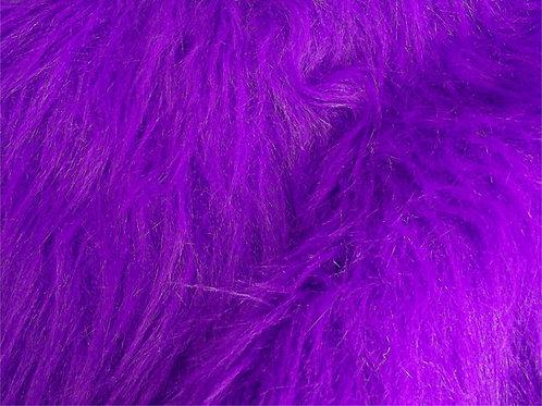 CRS Fabrics - Faux Fur - PURPLE AC356P