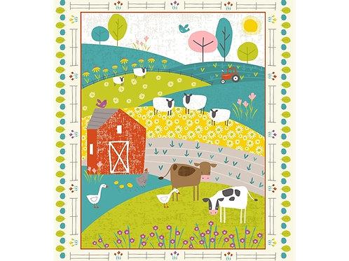 Studio E - Wildflower Farm Panel - SE4323P-86
