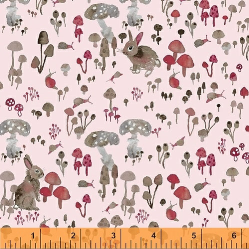 Windham Fabrics - Enchanted Forest - 43500-2PalePink