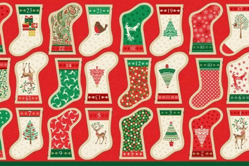 1798-1 Mini Stocking Advent Calendar