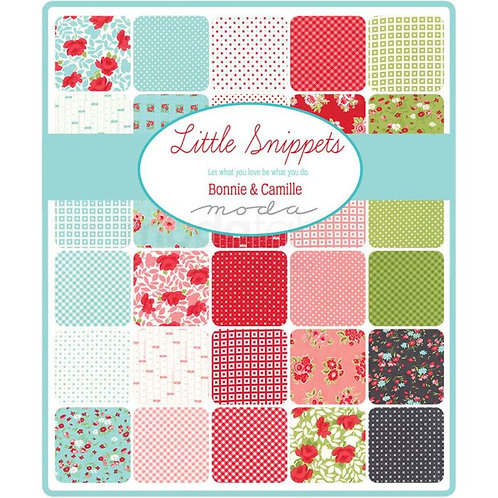 """MODA - Little Snippets Layer Cake 10"""" charm pack"""