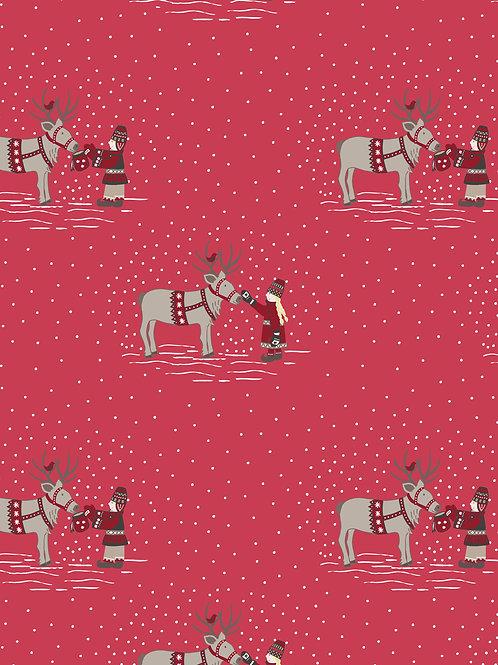 WIMSR- Meeting Santa's Reindeer red