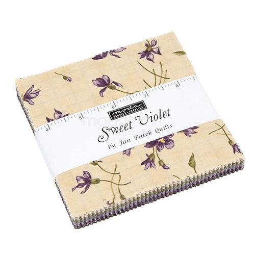 MODA - Sweet Violet charm pack