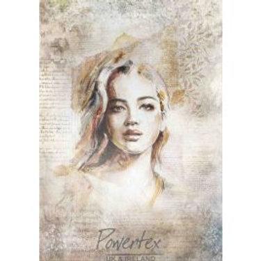 Silk Paper -Portrait