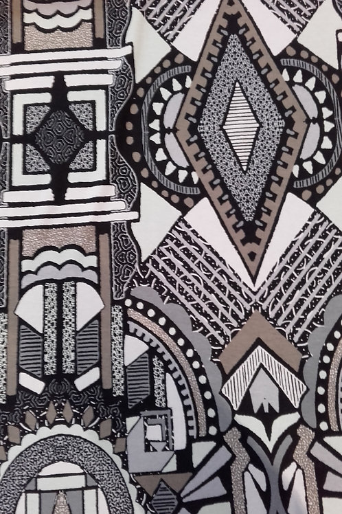 Abstract Print Jersey