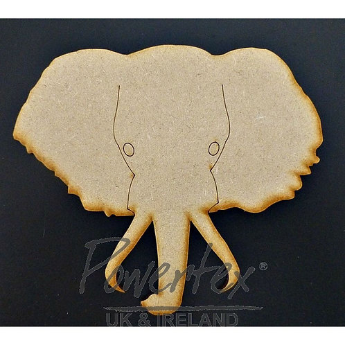Powertex - MDF - Elephants