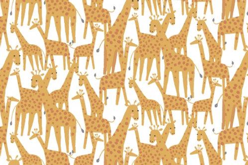 Stella - Born to be Wild -Giraffes White - 1217