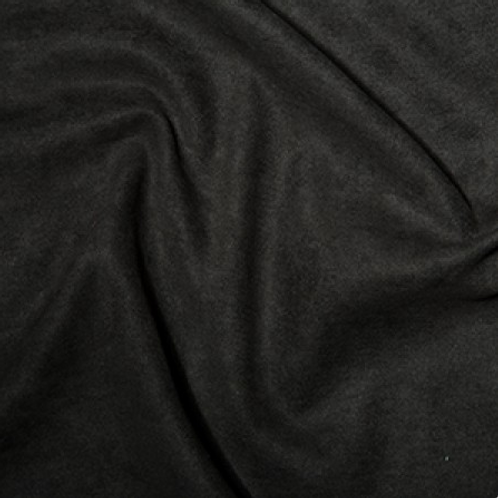 100% Polyester Suede - 150cm Wide - Black C5297BLA