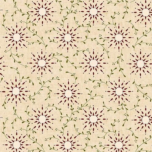 Kim Diehl -Cotton Prairie Vine Q6235-11Cream