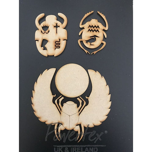 Powertex - MDF - Scarab Set