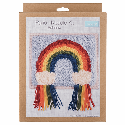 Punch Needle Kit: Rainbow