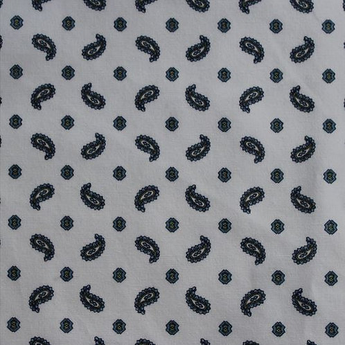 Sevenberry - Paisley - White 82025D2-1
