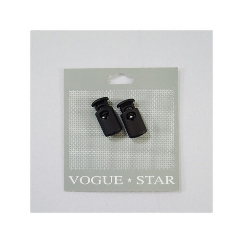 Vogue Star - Cord Toggle - Black