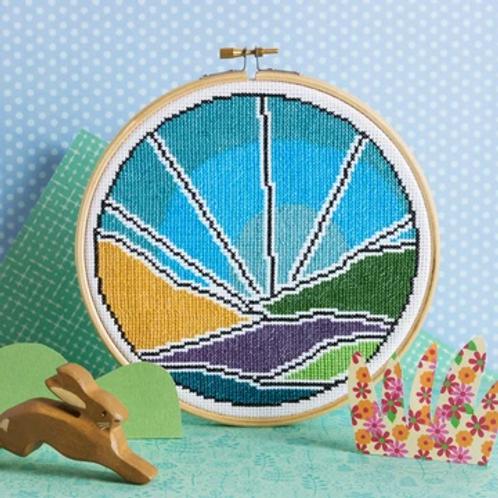 Blue Skies Cross Stitch Kit