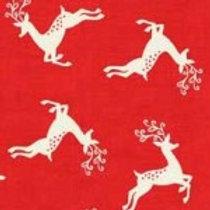 1785-R Scandi Deer Scatter Red