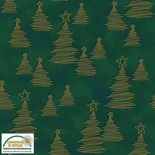 Stof Christmas Wonders 4596-802