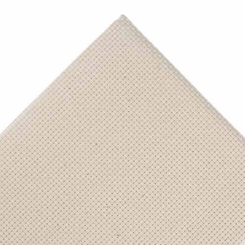 Monk's Cloth Needlecraft Fabric: 9 Count: 0.5mx 1.5m: Cream: Bolt
