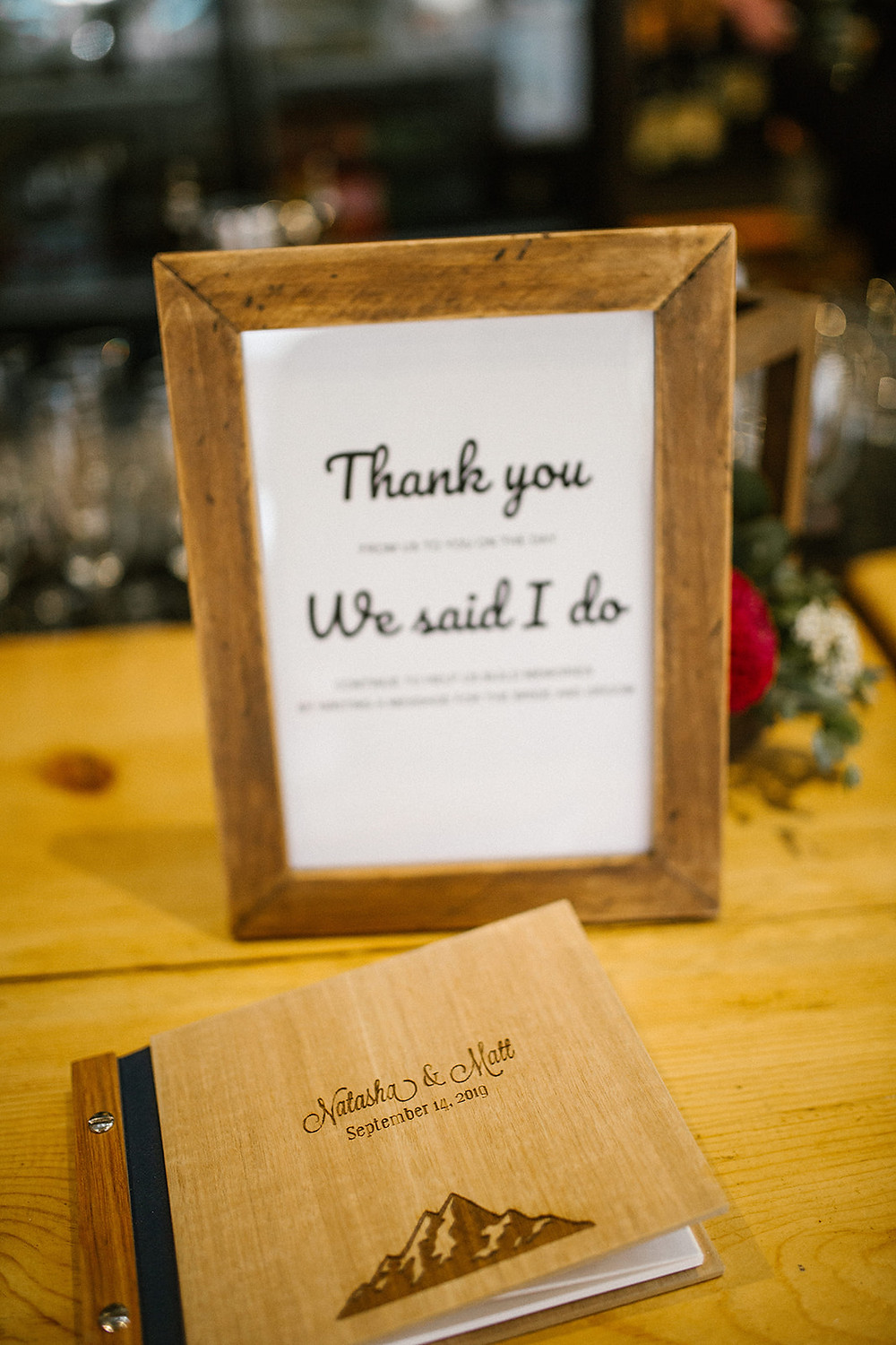 Breckenridge Wedding Planner - Ten Mile Station Wedding - Guest Book