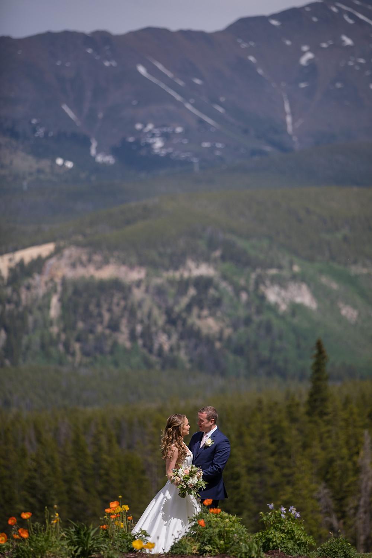 Breckenridge Wedding Planner - Ten Mile Station Wedding - First Look