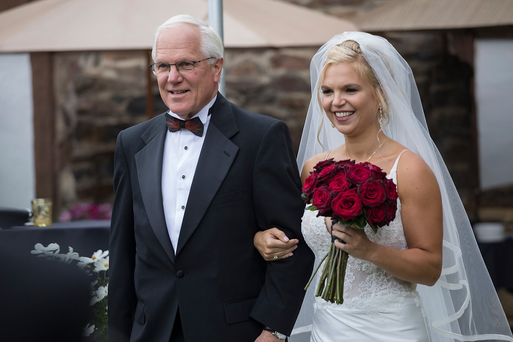 Colorado Wedding Planner - Father Walking Daughter down the aisle