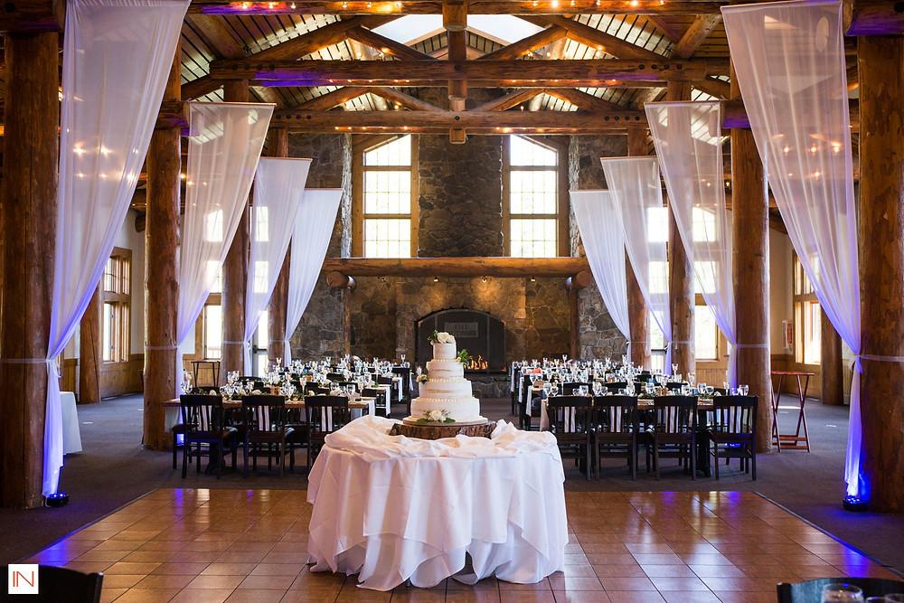 Keystone Wedding Cake