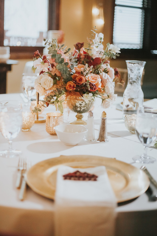 Breckenridge Wedding - Breckenridge Winter Wedding - The Lodge at Breckenridge Wedding - Centerpiece