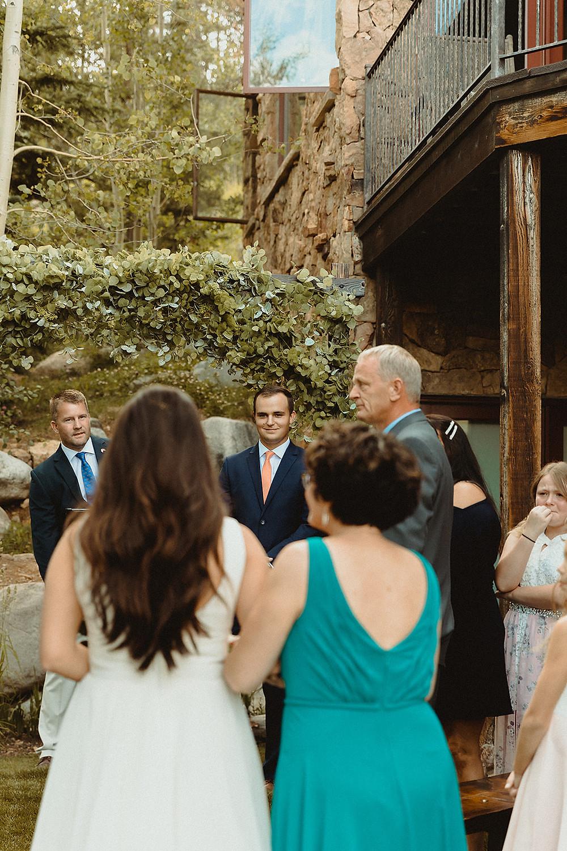 Chateau of Breckenridge Wedding - Breckenridge Wedding Ceremony