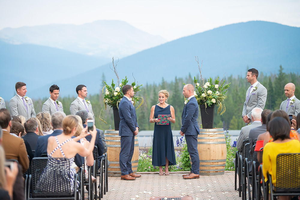Breckenridge Wedding Planner - Ten Mile Station Wedding - Same Sex Wedding Ceremony