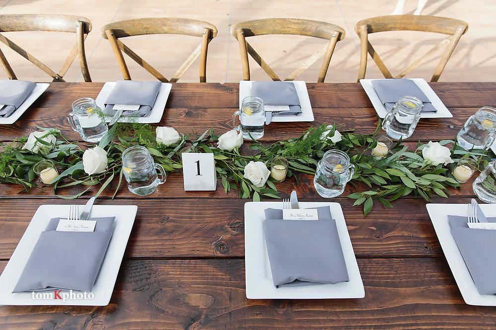 Breckenridge Wedding - Table Scape