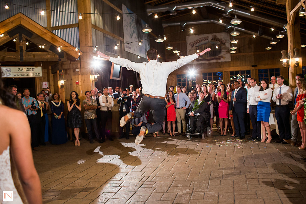 Breckenridge Wedding Planner - Ten Mile Station Wedding - Groom Dancing