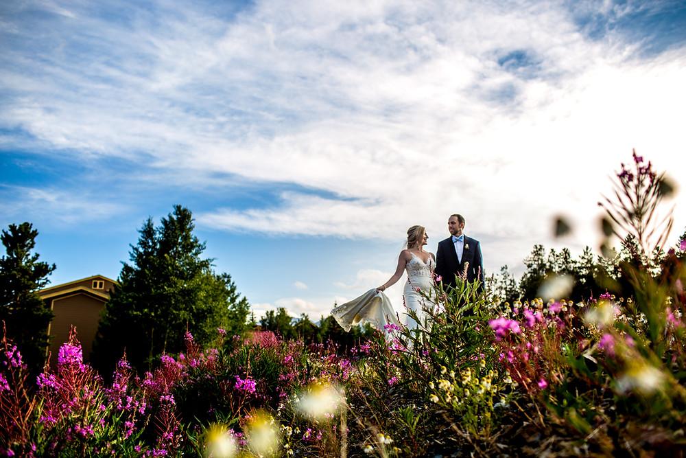 Breckenridge Wedding Planner - The Lodge at Breckenridge Wedding - Bride and Groom