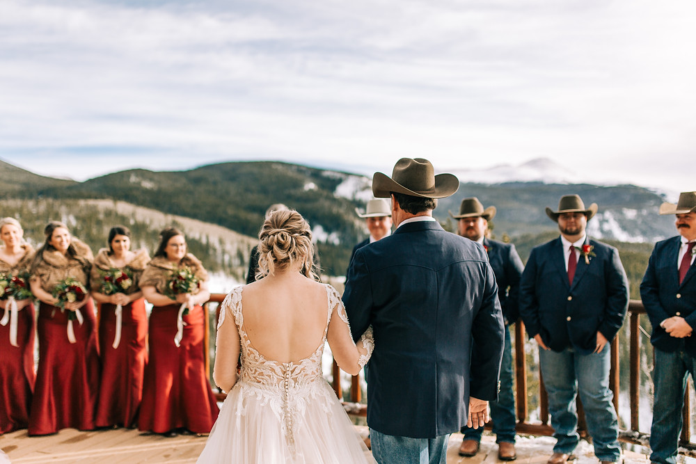The Lodge at Breckenridge Wedding; Wedding Ceremony