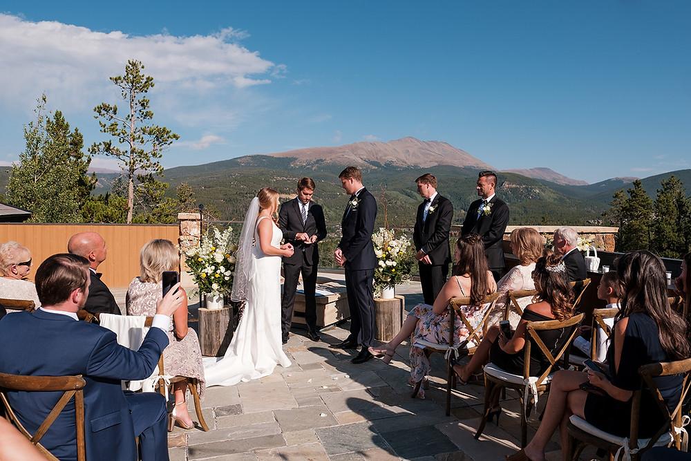 Breckenridge Wedding - Chateau of Breckenridge Wedding - Wedding Ceremony