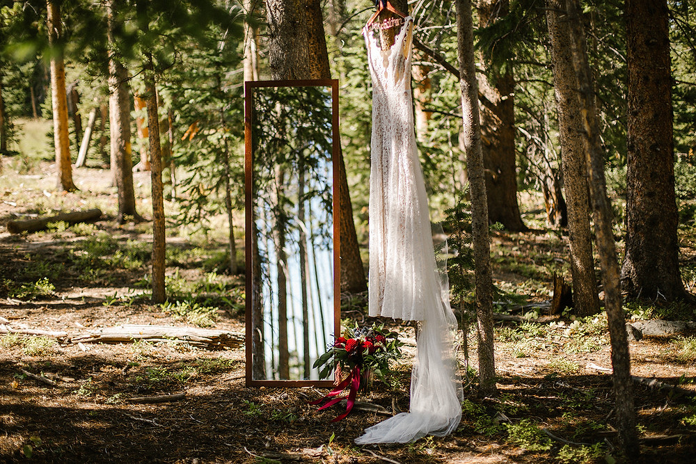 Breckenridge Wedding Planner - Ten Mile Station Wedding - Wedding Dress
