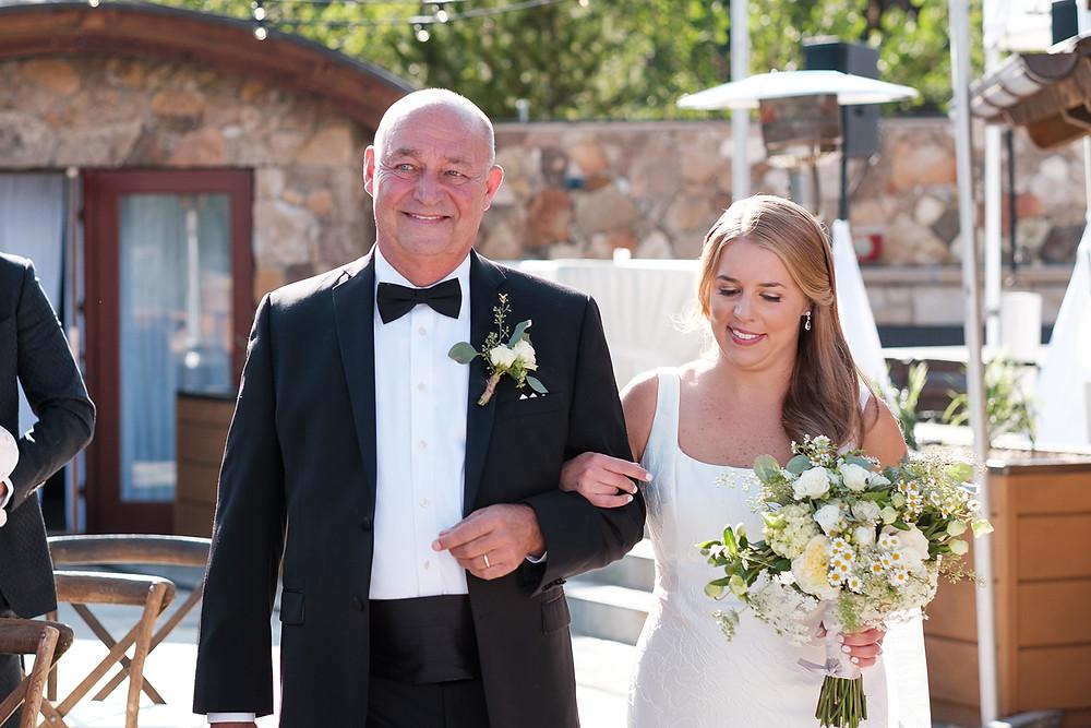 Breckenridge Wedding - Chateau of Breckenridge Wedding - Father Daughter